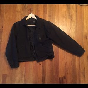Carhartt black insulated jacket